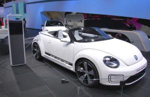 Двухместный спидстер E-Bugster – электрический Volkswagen