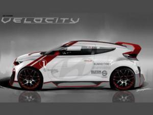 Velocity на базе хэтчбека Veloster –фантастические новинки автомобилей.