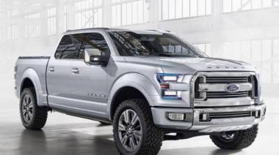 Новинка от Ford - удачный пикап F 150 теперь c алюминиевым кузовом.